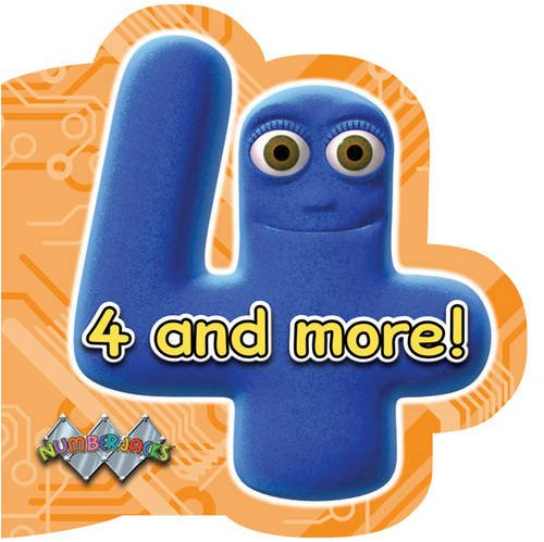 9781405244695: 4 and More! (Numberjacks)