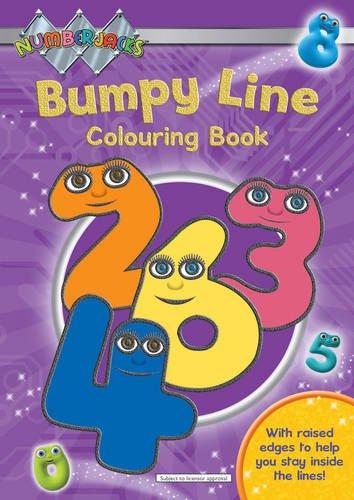 9781405247948: Numberjacks Bumpy Line Colouring Book