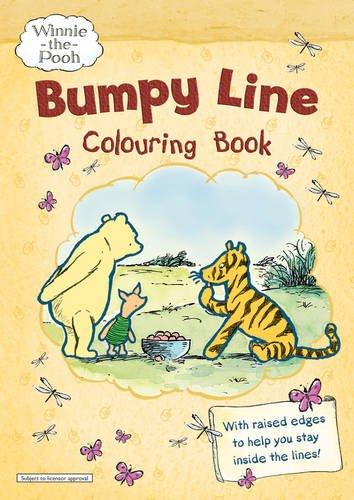 9781405247955: Winnie-the-Pooh Bumpy Line Colouring Book