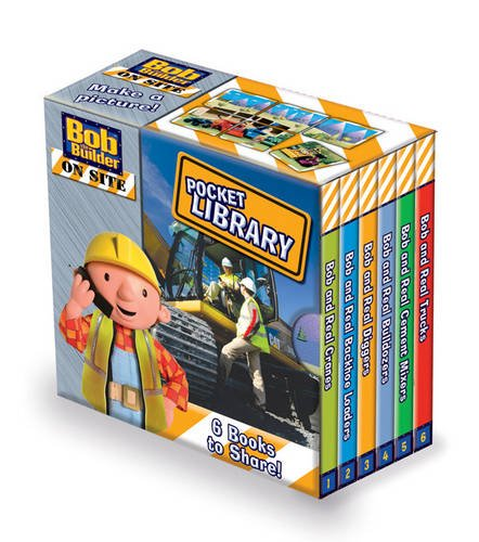 9781405249867: Bob the Builder on Site Pocket Library