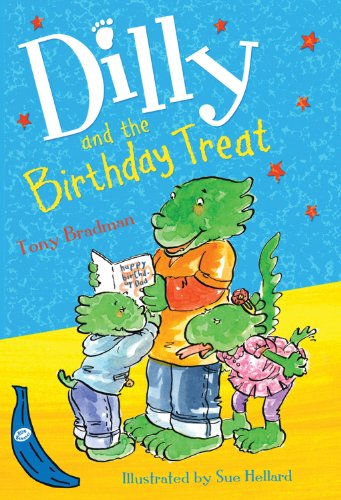 9781405253031: Dilly and the Birthday Treat (Blue Bananas)