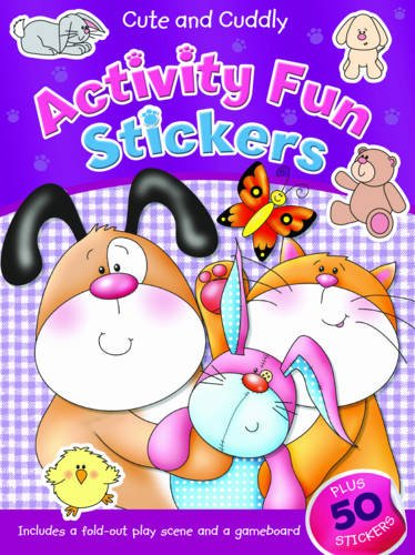 Cute and Cuddly: Activity Fun Stickers
