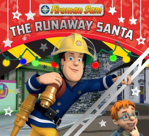 9781405257763: Fireman Sam Christmas Story Library: The Runaway Santa (Christmas Story Book)