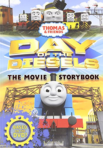 9781405260053: Thomas & Friends Day of the Diesels The Movie Storybook