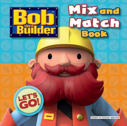9781405260893: Bob the Builder Crazy Mix-ups (Mix & Match)