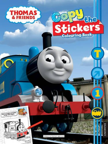 9781405261920 Thomas Friends Copy The Stickers Colouring