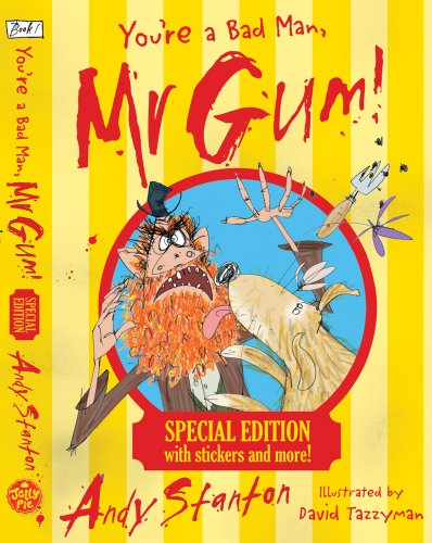 9781405265393: You're a Bad Man, Mr Gum! Special Edition