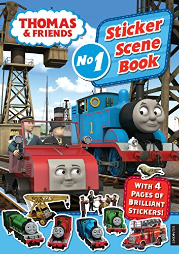 9781405265591: Thomas & Friends Sticker Scene Book (Thomas & Friends (Paperback))