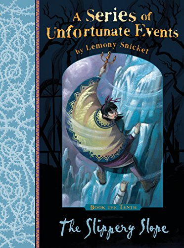 9781405266154: A Series of Unfortunate Events (en anglais), Book 10 : The Slippery Slope