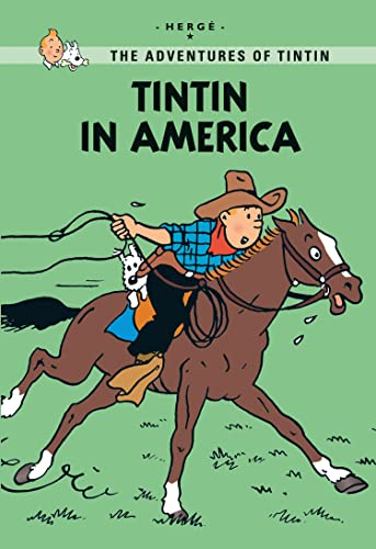 9781405266987: America (Tintin Young Readers Series)