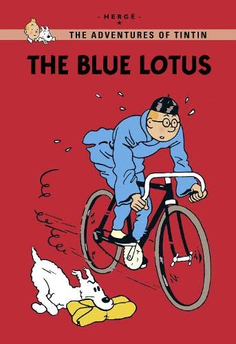 9781405267007: The Blue Lotus (Tintin Young Readers)