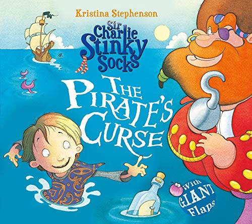 9781405268103: Sir Charlie Stinky Socks and the Tale of the Pirate's Curse
