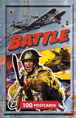9781405268370: Battle Postcards: 100 Postcards (Classic Comics Postcard Collection)