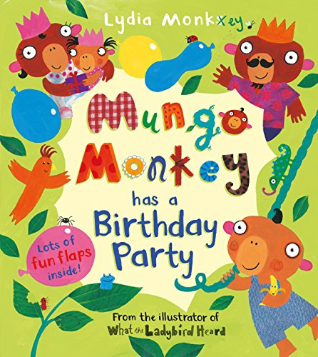 9781405268660: Mungo Monkey has a Birthday Party