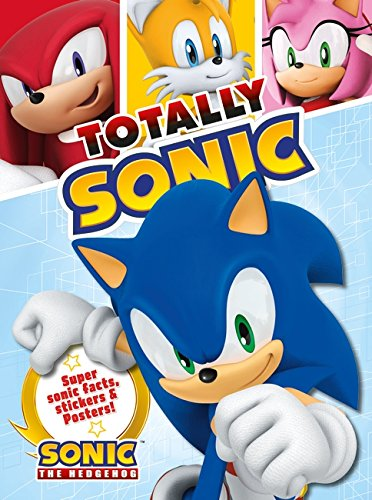 9781405271158: Totally Sonic: Super Sonic facts, stickers and posters!