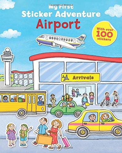 9781405271431: My First Sticker Adventure Airport