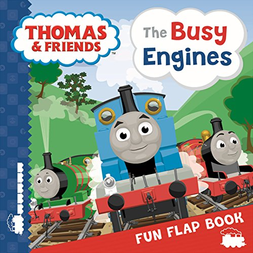 9781405273114: Thomas & Friends Busy Engines Lift-the-Flap Book