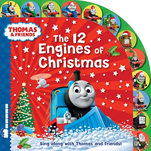 9781405273749: Thomas & Friends: The 12 Engines of Christmas