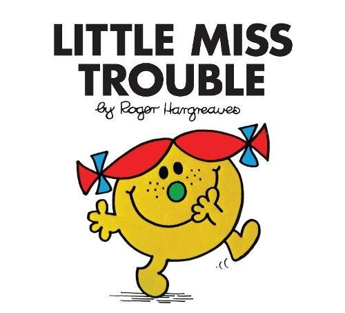 9781405274258: Little Miss Trouble (Little Miss Classic Library)