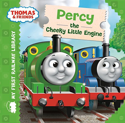 9781405275057: Thomas & Friends: My First Railway Library: Percy the Cheeky Little Engine