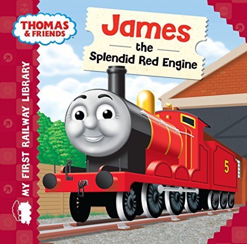 9781405275064: Thomas & Friends: My First Railway Library: James the Splendid Red Engine