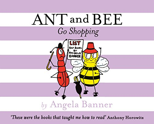 Ant and Bee Go Shopping: Banner, Angela