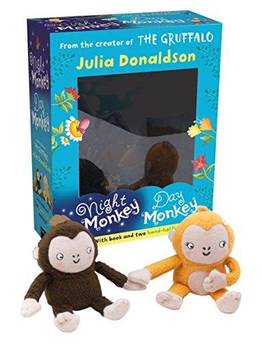 9781405275538: Night Monkey Day Monkey Books: Gift Box Set: Picture Book and 2 Plush Toys (Night Monkey and Day Monkey)