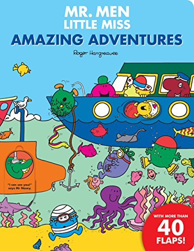 9781405275583: Mr Men Amazing Adventures Flap Book