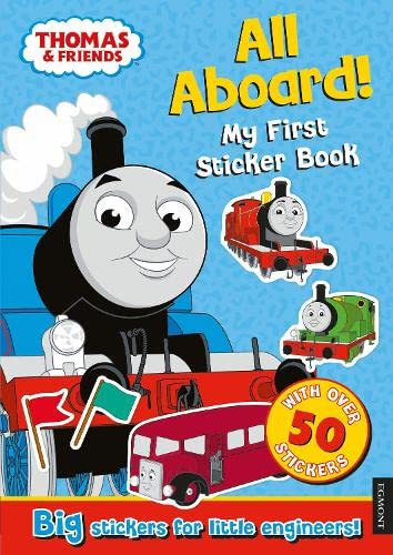 9781405276559: Thomas the Tank Engine All Aboard! My First Sticker Book
