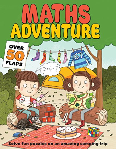9781405276610: Maths Adventure (Flip-flap Journeys)
