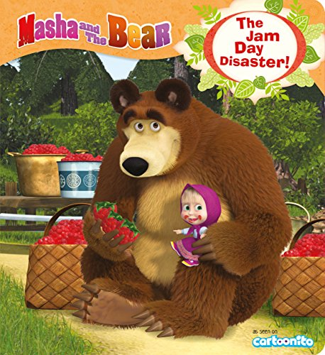9781405277198: Masha and the Bear: The Jam Day Disaster
