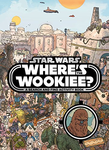 9781405277334: Star Wars: Where's the Wookiee? Search and Find Book (Search & Find Activity Books)