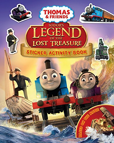9781405277471: Thomas & Friends: Sodor's Legend of the Lost Treasure Movie Sticker Book (Thomas & Friends Movie Sticker)