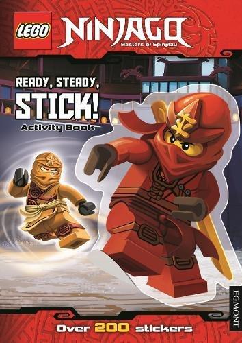 9781405278027: LEGO Ninjago: Ready, Steady, Stick!: Sticker Activity Book