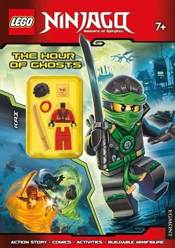 9781405278058: LEGO Ninjago the Hour of Ghosts: Activity Book with Minifigure