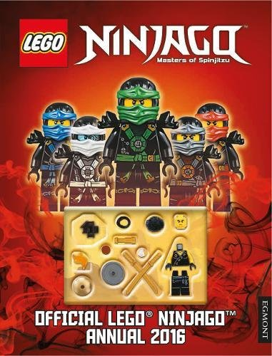 9781405278966: The Official LEGO Ninjago Annual 2016