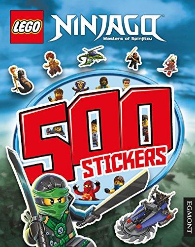 9781405279024: Lego Ninjago 500 Stickers