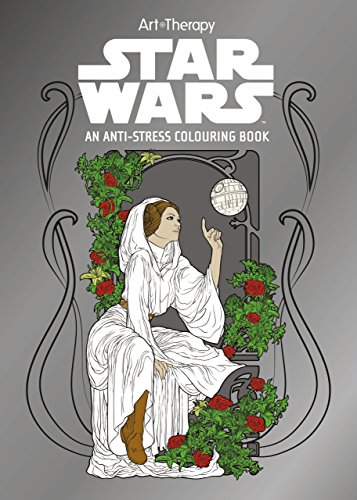 9781405279918: Star Wars Art Therapy Colouring Book