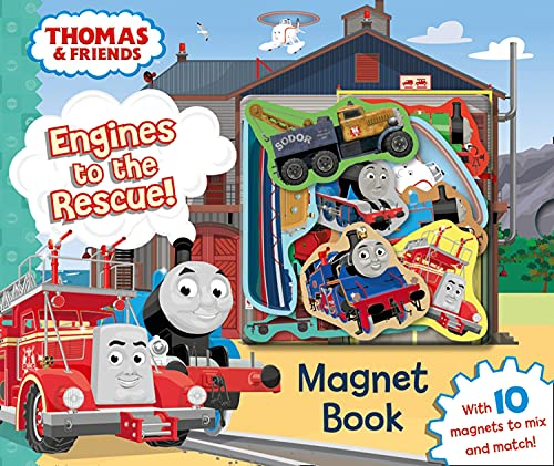 9781405280334: Thomas & Friends: Engines to the Rescue! Magnet Book