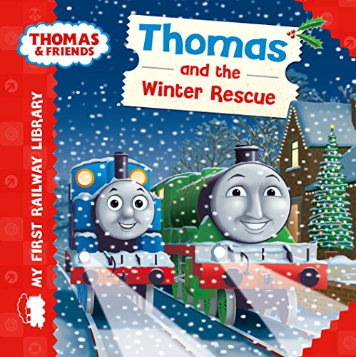 9781405280341: My First Railway Library Thomas and the Winter Rescue