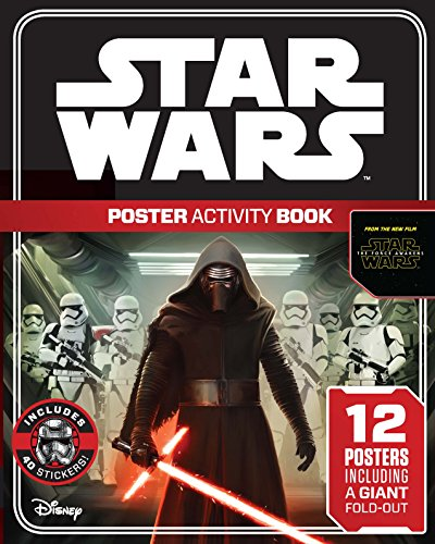 9781405280488: Star Wars: The Force Awakens Poster Activity Book