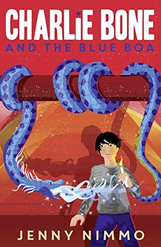 9781405280945: Charlie Bone and the Blue Boa