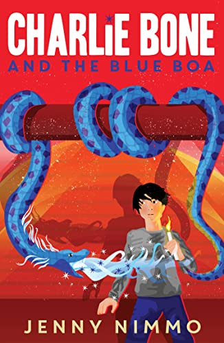 Charlie Bone and the Blue Boa: Jenny Nimmo