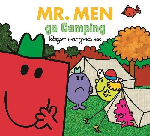 Mr. Men Go Camping (Paperback): Roger Hargreaves