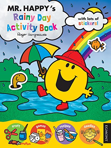 9781405281058: Mr Happy's Rainy Day Activity Book (Mr Men)