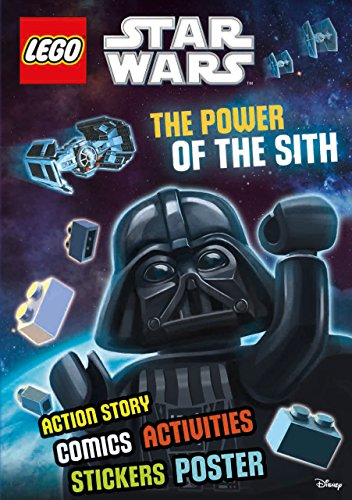 9781405281201: Lego Star Wars: The Power of the Sith (Sticker Poster Book)Activity Book with Stickers