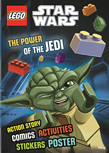 9781405281218: Lego Star Wars: The Power of the Jedi (Sticker Poster Book) Activity Book with Stickers