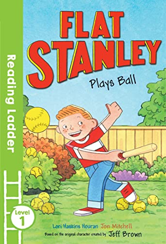 9781405282079: Flat Stanley Plays Ball (Reading Ladder Level 1)