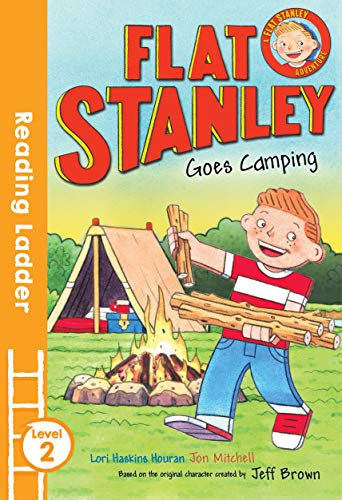 9781405282086: Flat Stanley Goes Camping: Level 2 (Reading Ladder)