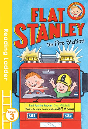 9781405282093: Flat Stanley and the Fire Station (Reading Ladder Level 3)